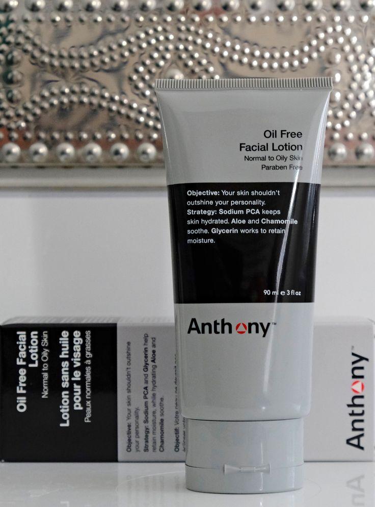 Anthony Oil Free Facial Lotrion • Moisturizer • Feuchtigkeitspflege für Männer • Männerkosmetik  æ Männerpflege