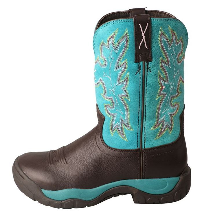 Twisted X Ladies All Around Turq Boots 6 M: Twisted X Ladies All Around Turquoise Boots The Twisted X… #equestrian #horsesupplies #horses