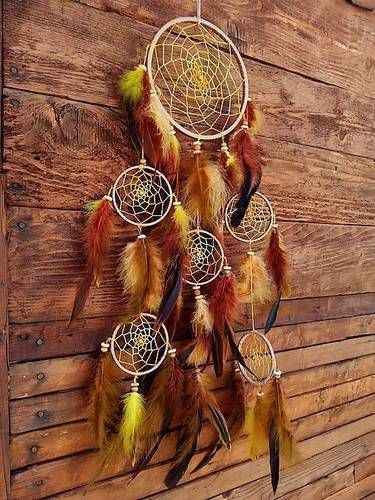 Lapač snov -Východ Slnka #handmade #lapacsnov #natur #priroda #lapac #dreamcatcher