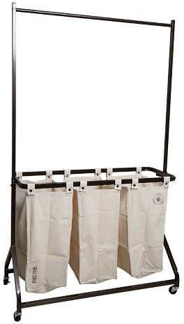 American Vintage Garment Rack with Laundry Sorter - Cream Canvas https://api.shopstyle.com/action/apiVisitRetailer?id=603528094&pid=uid8100-34415590-43