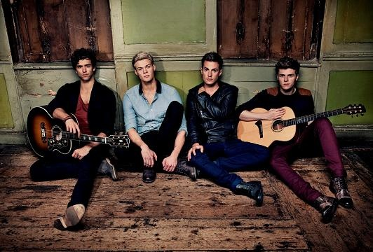 Andy Brown, Ryan Fletcher, Adam Pitts and Joel Peat. The lads of Lawson.