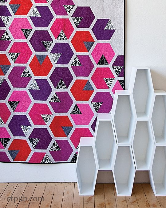 25 Creative Patchwork Tile Ideas Full Of Color And Pattern: 97 Best Images About Geometric Quilts On Pinterest