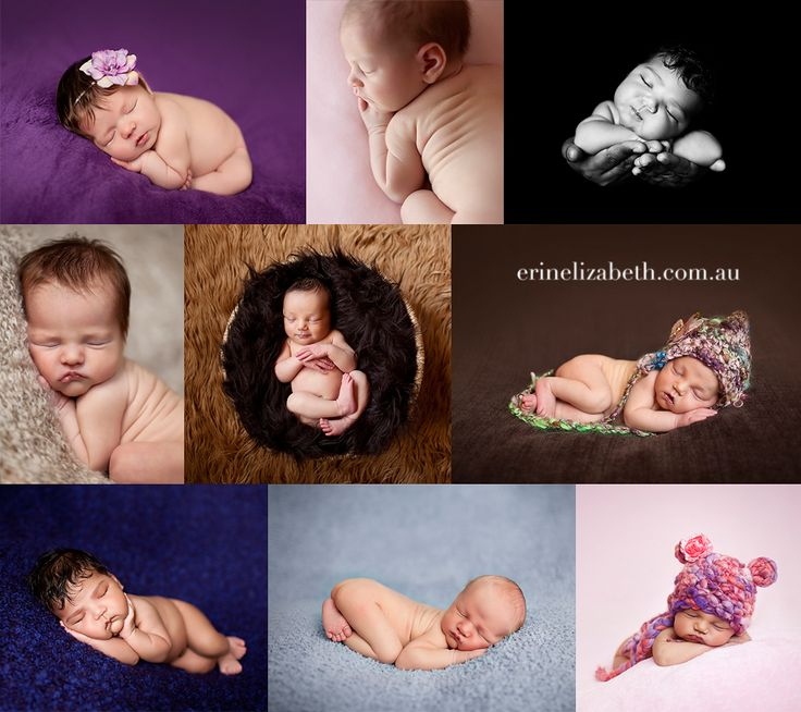 Love all her newborn shots