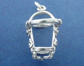 Pelham Bit Charm Sterling Silver Horse Tack by jewelbecharmed