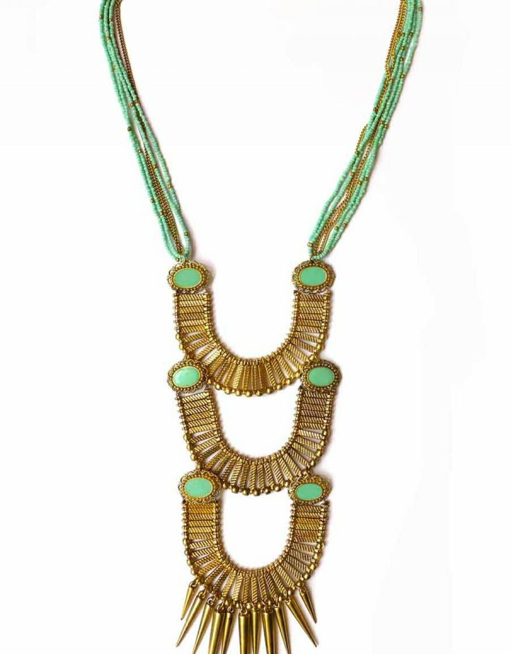 Long necklace - Tellurique Size:One size