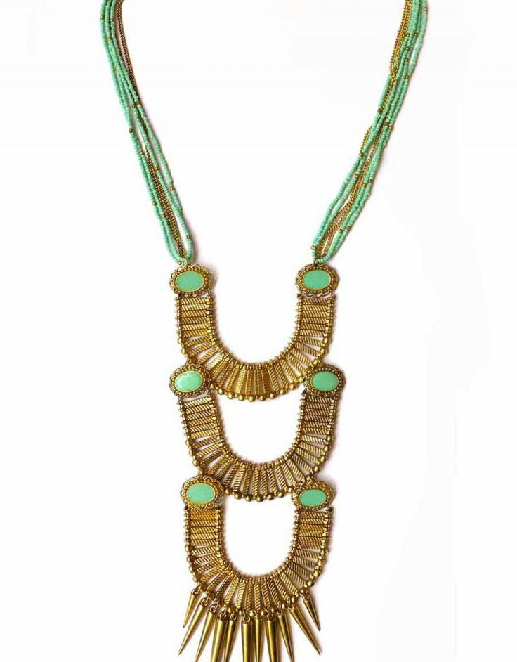 Long necklace - Tellurique Size:One size