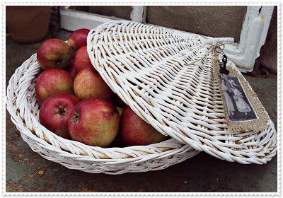 Frutero de mimbre hecho a mano   -   Fruit Bowl handmade wicker