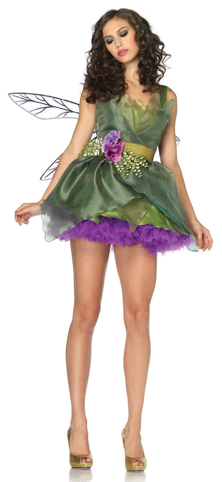Black sparkling fairy tale dress up game