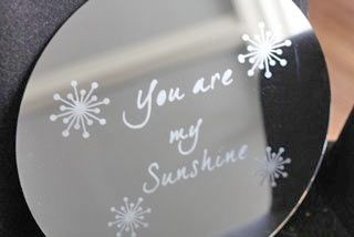 Etched Mirror - this etching cream sounds like a must have