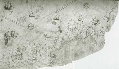 Énigmes Archéologiques: Carte de Piri Reis - Frawsy