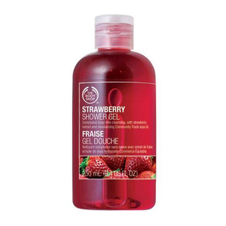 The Body Shop Strawberry Shower Gel(250ml)