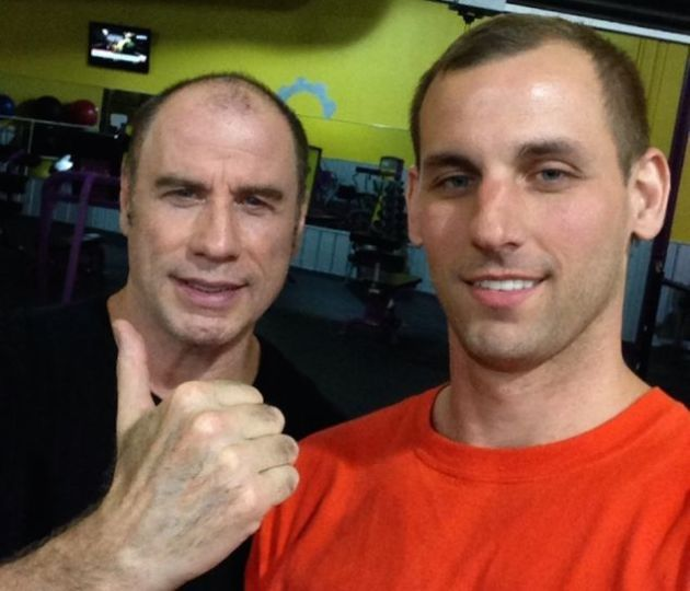 John Travolta Talks Chatting Up Young Dudes at the Gym at 3 am: I Do It For My Kids!