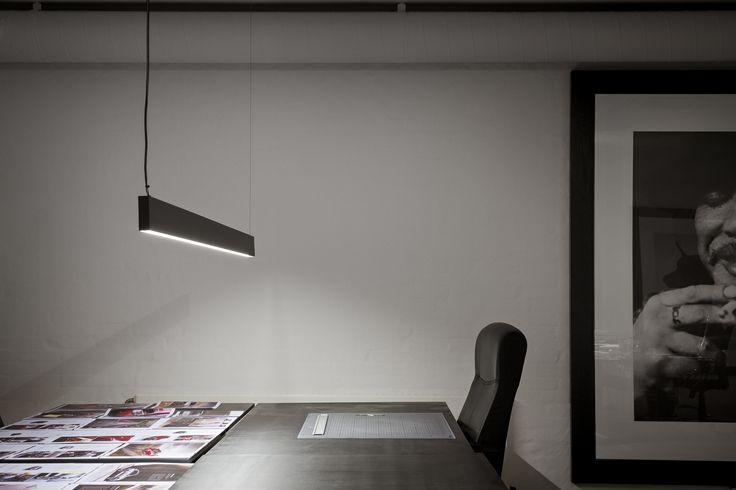 Ocean Office, Copenhagen. Architect: Inhouse. Lighting Design: Møller and Rothe. Products: Deltalight