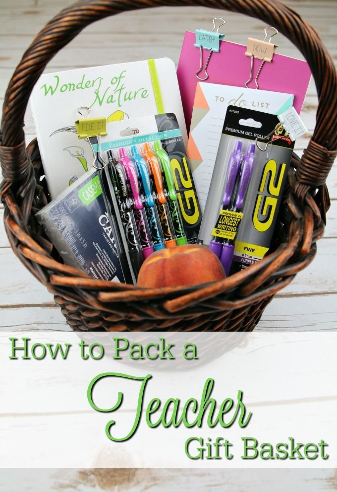Classroom Ideas For New Teachers ~ Gift baskets for new teachers ftempo