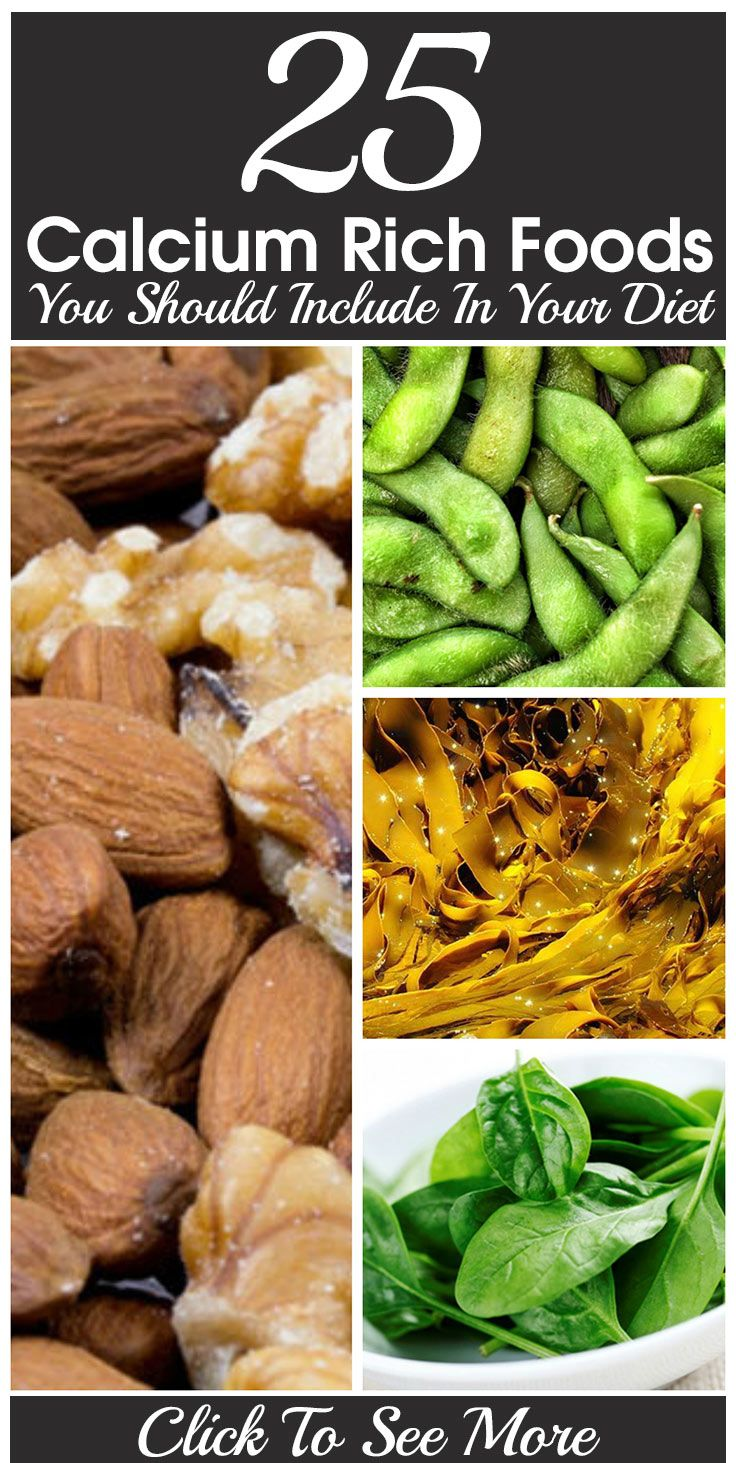 Top 25 Calcium Rich Foods You Should Include In Your Diet