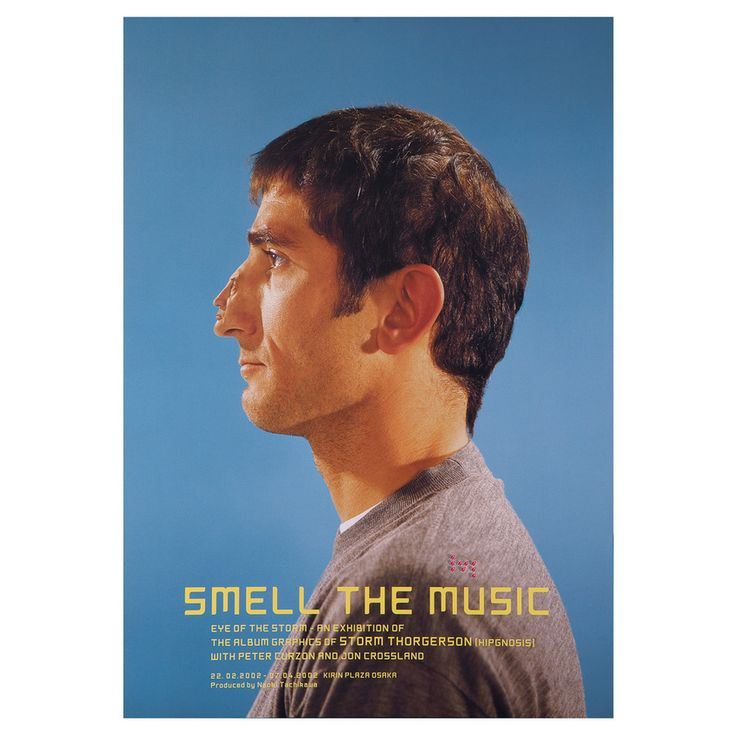 Smell The Music - Japan Exhibition poster