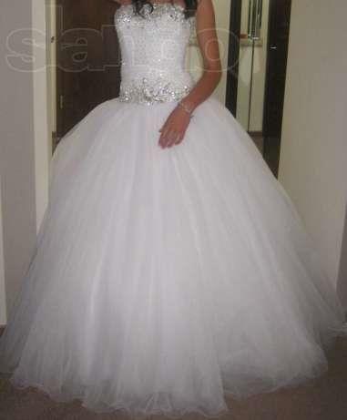 Свадебная юбка из фатина запорожье