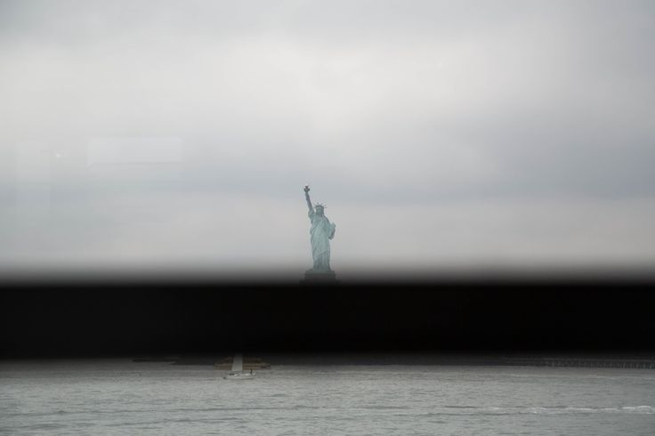 "Nona Faustine, Fragment of Evidence, Statue Of Liberty, 2016  ""It seemed as if freedom, in that picture, was disappearing,"" she said!"
