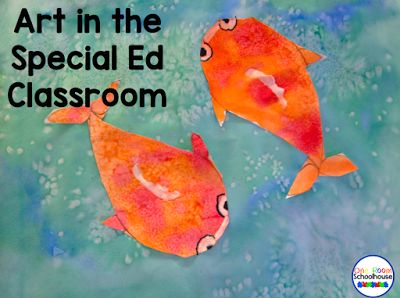 Art in the Special Ed Classroom - One Room Schoolhouse