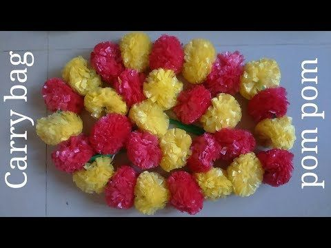 How To Make Artificial Marigold Flower At Home Waste Out Of Best