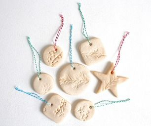 Salt dough ornaments are quick and easy to make and they last forever! I'm pretty sure my mom still has some of my salt dough creations from elementar...