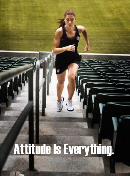 Even though I may have a bad attitude before working out...I always have a good one after!