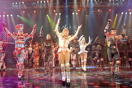 Starlight Express! Haha if you can be lieve its a musical and they dance in roller-skates =) it was actually super fun, we went see it when we lived in Germany =)