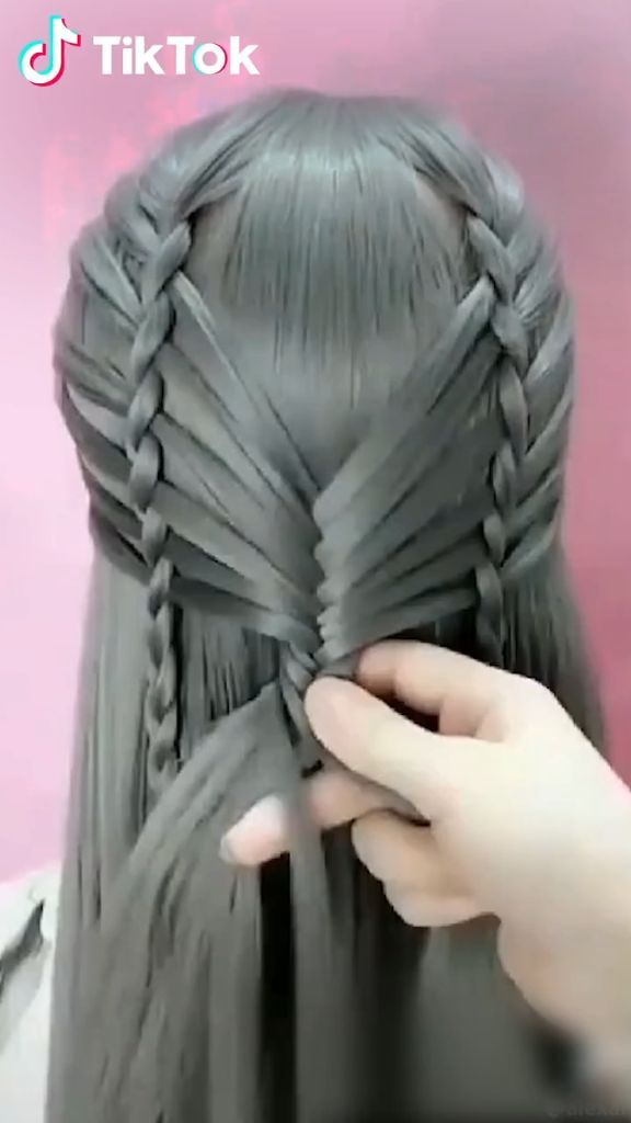 Super Easy To Try A New Hairstyle Download Tiktok Today To Find More Hairsty Super Easy To Try A New Hairstyle Hair Styles Hair Videos Long Hair Styles