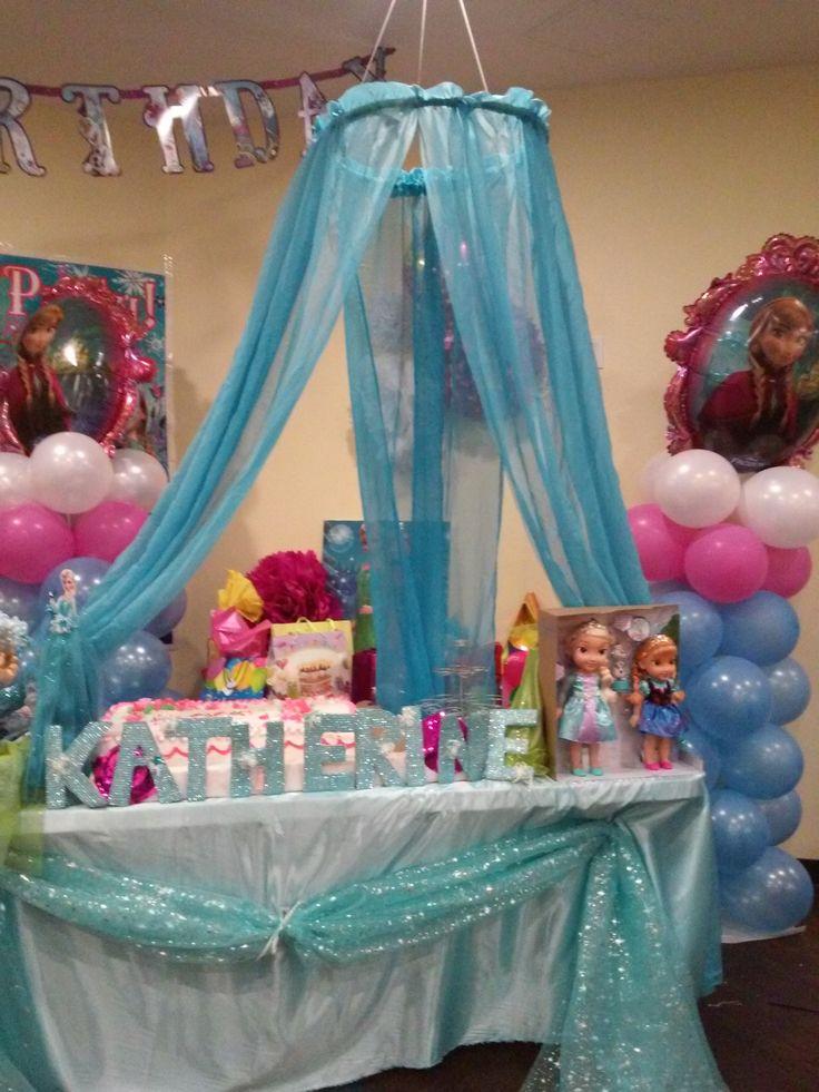 Frozen balloon decoration frozen party ideas pinterest for Frozen balloon ideas