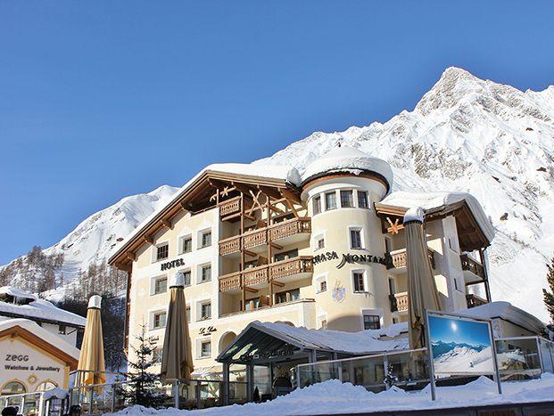 Chasa Montana Hotel & Spa. Hotel and restaurant in the mountains. Switzerland, Samnaun. #relaischateaux #switzerland #chasamontana