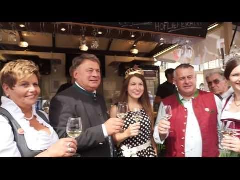 Bauernmarktmeile München 2016 - Rundgang mit Landwirtschaftsminister