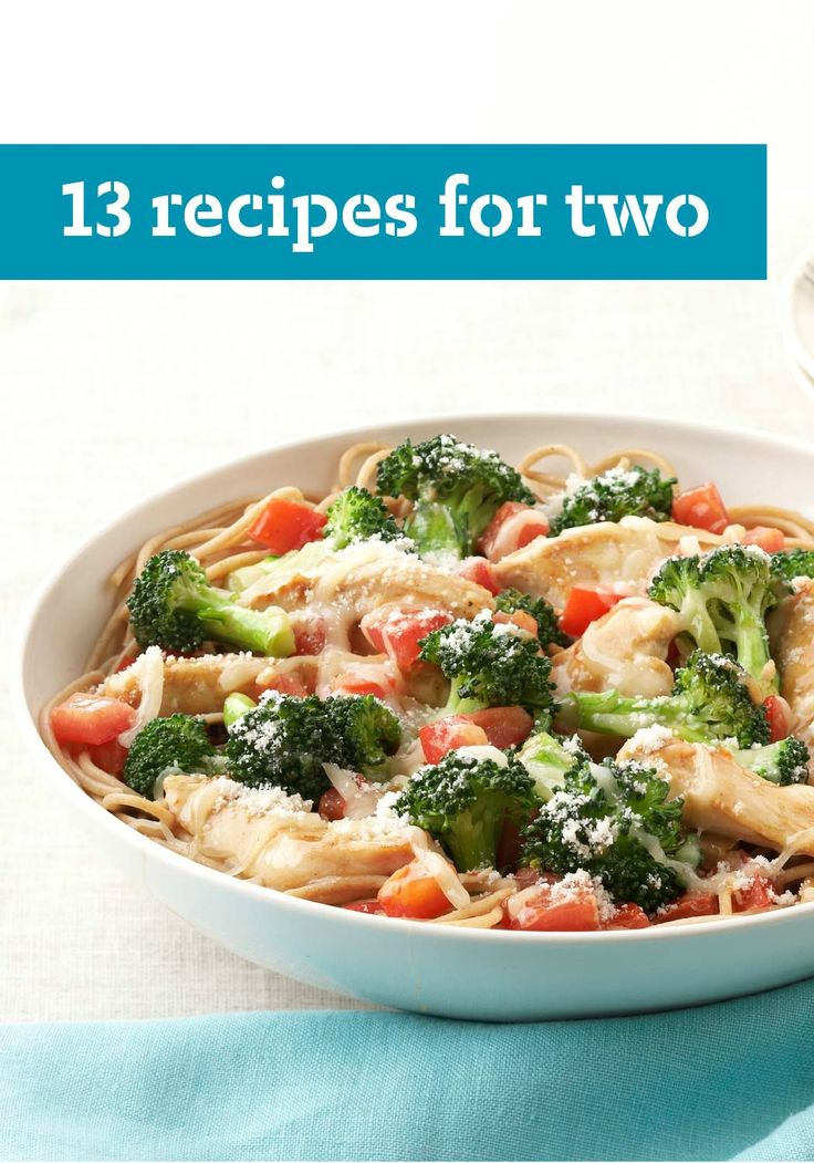 13 Recipes for Two – Looking for a quick pasta dish for two? Or cheesecakes for two? Recipes developed to serve two with no leftovers are hard to find—but you've found them!