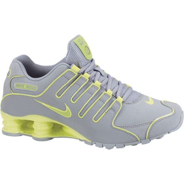 Nike Shox Grey And Yellow