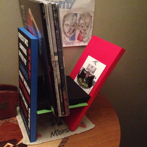 twenty one pilots vinyl display shelf
