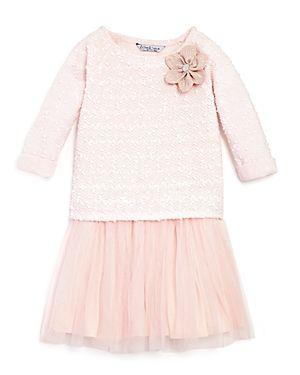 Pippa & Julie Girls' Sweater & Tank Dress Set - Sizes 2-6X