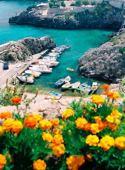 Salento coast (Puglia) - I  LOVE Puglia, almost as much as I love Umbria. How pretty is this region?