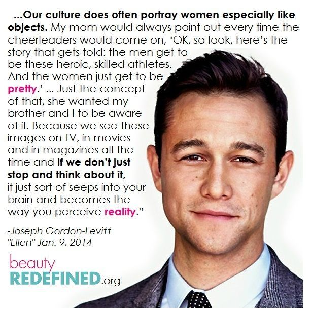 17 Best Quotes On Women on Pinterest | Being a woman ... Joseph Gordon Levitt Quotes