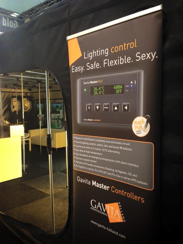 Home Grown Expo Coventry | Hydroponics Show | Gavita Master Controller