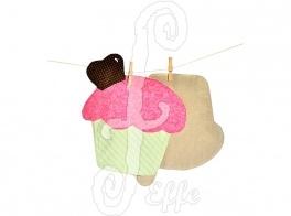 Muffin o tovagliette?  Tovagliette a forma di muffin - fatto a mano da Effe Cremona! http://www.effecremona.it