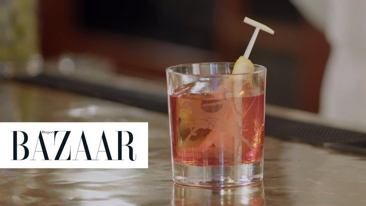 How to Make a Classic Negroni: The Polo Bar shows us how to make this go-to classy cocktail.