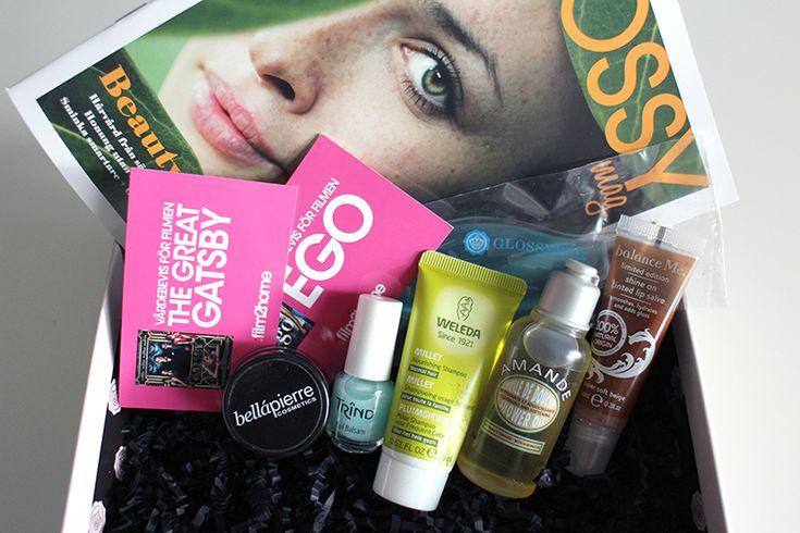 Glossybox - September  @Glossybox Brasil Sweden
