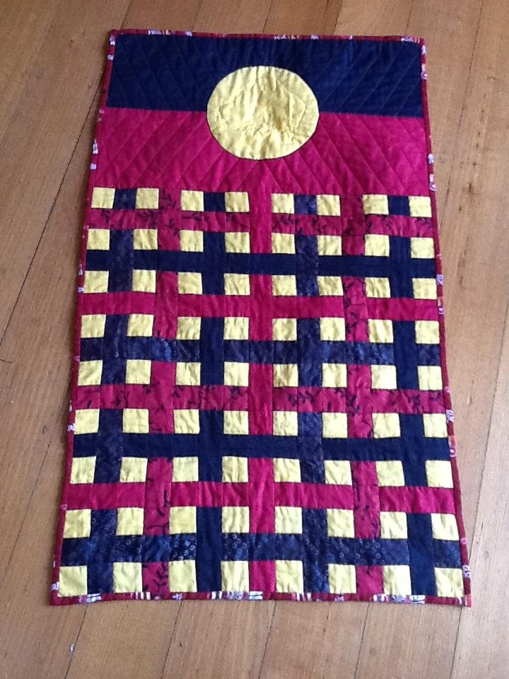 Tobias' Aboriginal flag