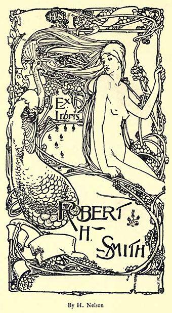 The Art Nouveau Blog: Art Nouveau Book Plates
