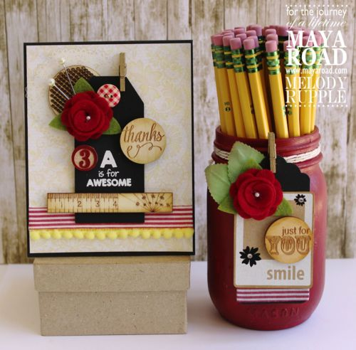 Teacher Thank You Gift by Melody Rupple for @mayaroad
