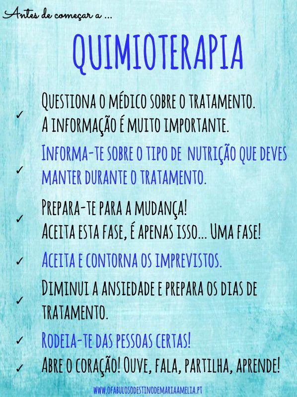 http://www.ofabulosodestinodemariaamelia.pt/antes-de-comecar-a-quimioterapia/ #Cancro #Quimioterapia