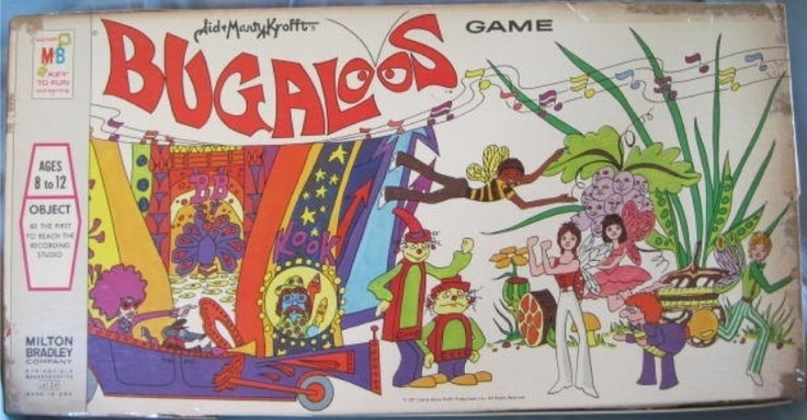 MILTON BRADLEY: 1971 Bugaloos Game (Sid and Marty Krofft) #Vintage #Games: Bugaloos 1971, Bugaloo Games, Bugaloo 1971, Vintageboard Gamescard, Vintage Boards, Posts, Bradley 1970S, 1971 Bugaloo, Gamescard Gamesetc