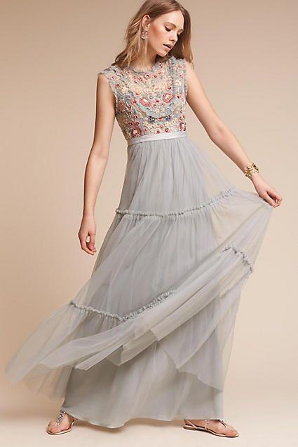 Anthropologie Wanderer Wedding Guest Dress