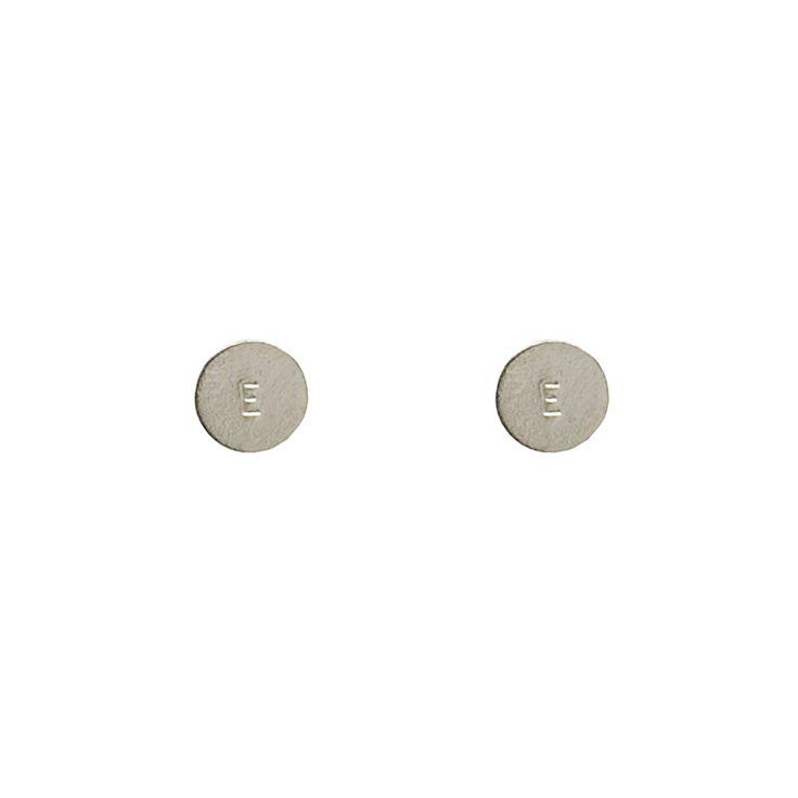 Personalised Disc Earrings