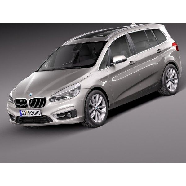 BMW 2-series F45 Gran Tourer 2016 - 3D Model