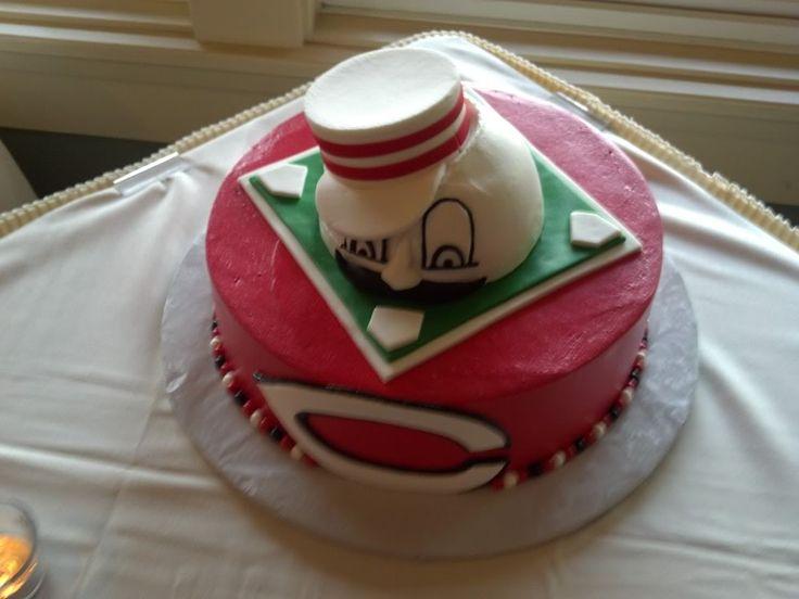 Cincinnati Reds cake idea